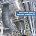Armazenamento e transporte de resinas