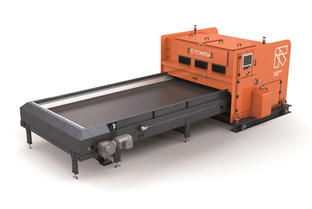 Plástico Moderno, Autosort Laser opera com alta velocidade e precisão