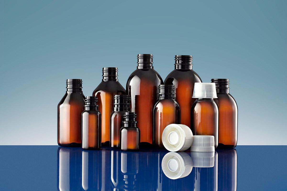 Plástico Moderno, Linha farmacêutica de frascos de PET, da Gerresheimer ©QD Foto: Divulgação/Sindusfarma
