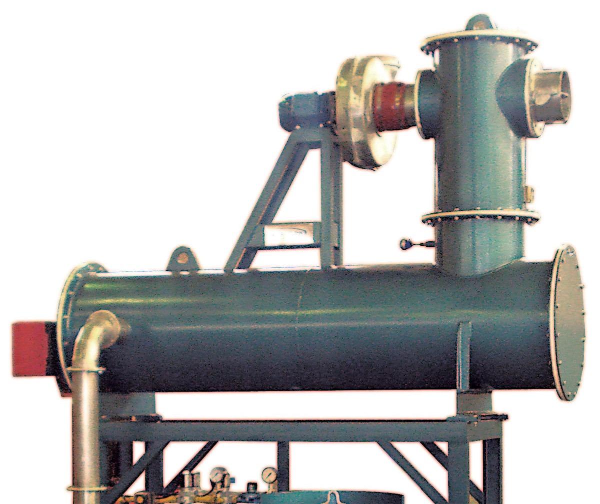 Plástico Moderno - forno--de--pirForno de pirólise controlada elimina resíduos de resinas