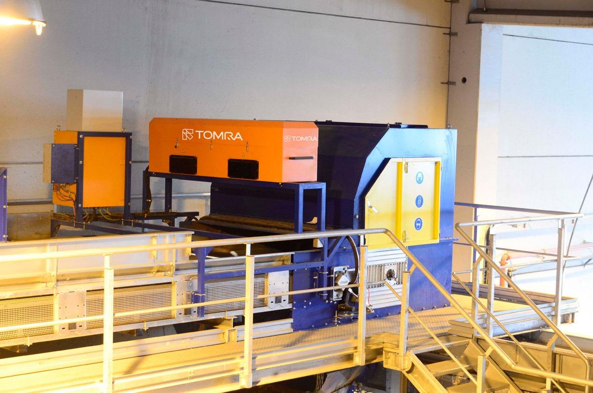 Plástico Moderno - Sistema Autosort, da Tomra, opera em recicladora espanhola